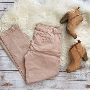 NY & Company blush straight leg pants